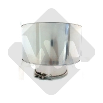 ANTI DOWN-DRAUGHT CAP WITH INTERIOR CONE