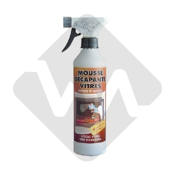 GLASS CLEANER FOAM 500ml WITH SPRAYER