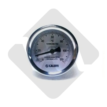 TEMPERATURE GAUGE 0-120ºC D60 1/2 CALEFFI 688001