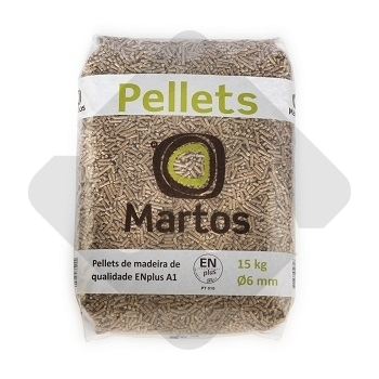 PELLETS MARTOS 6mm 15Kg BAG