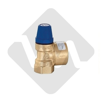 SAFETY VALVE FF 1/2 X 8 BAR CALEFFI 531480